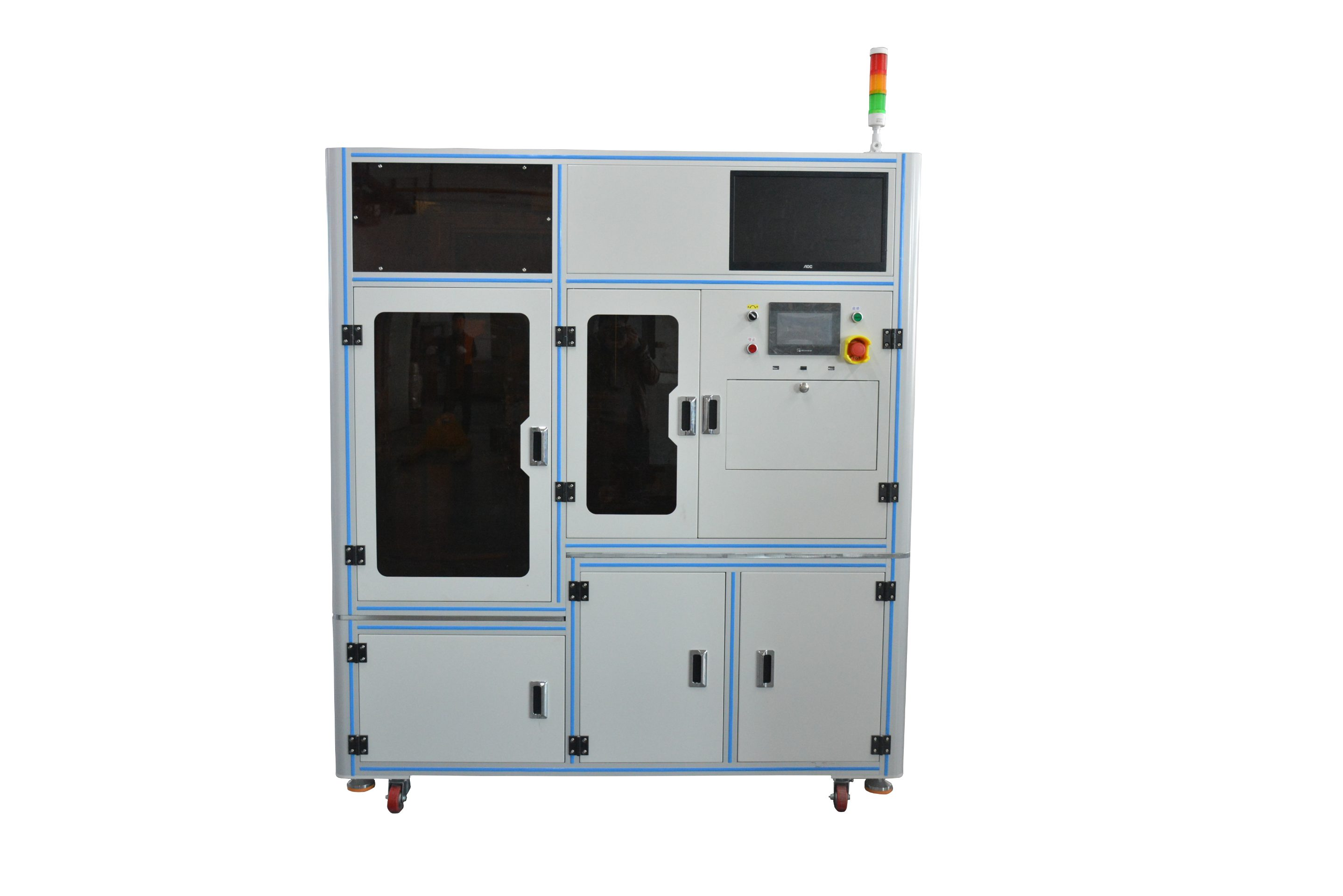 Automatic laser marking and dividing board machine