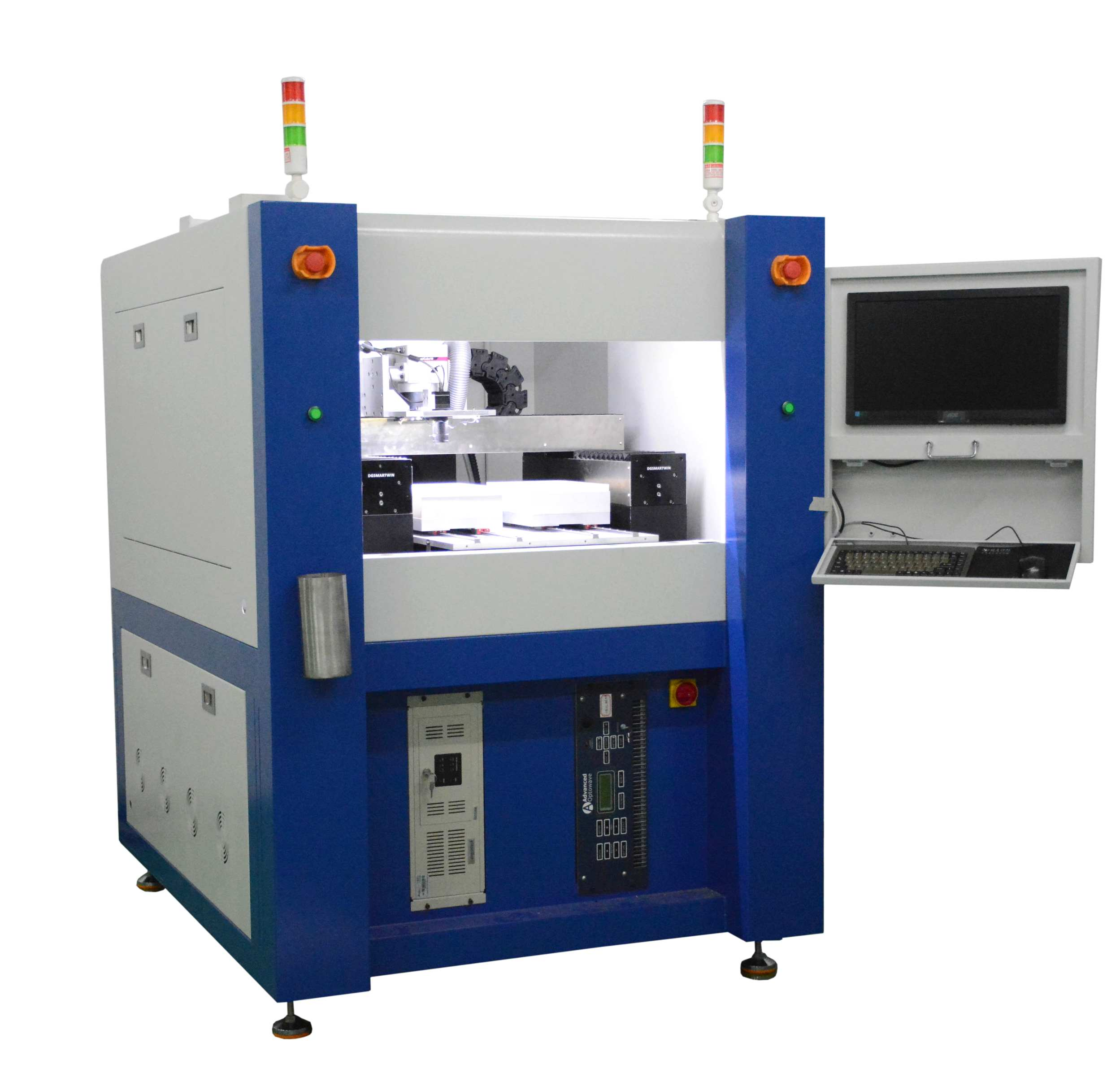 CCD edge searching laser cutting machine