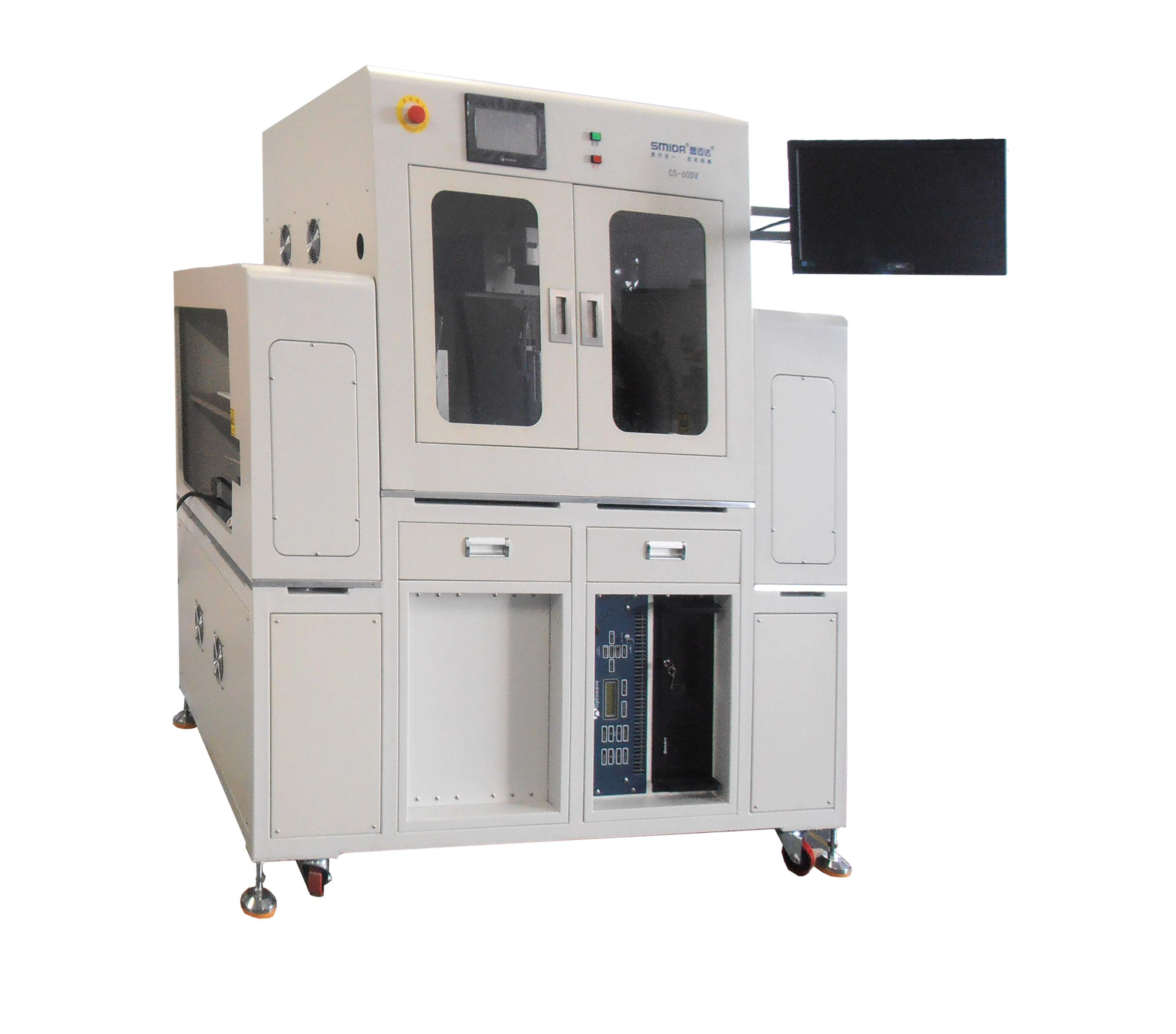 Full automatic laser marking machine