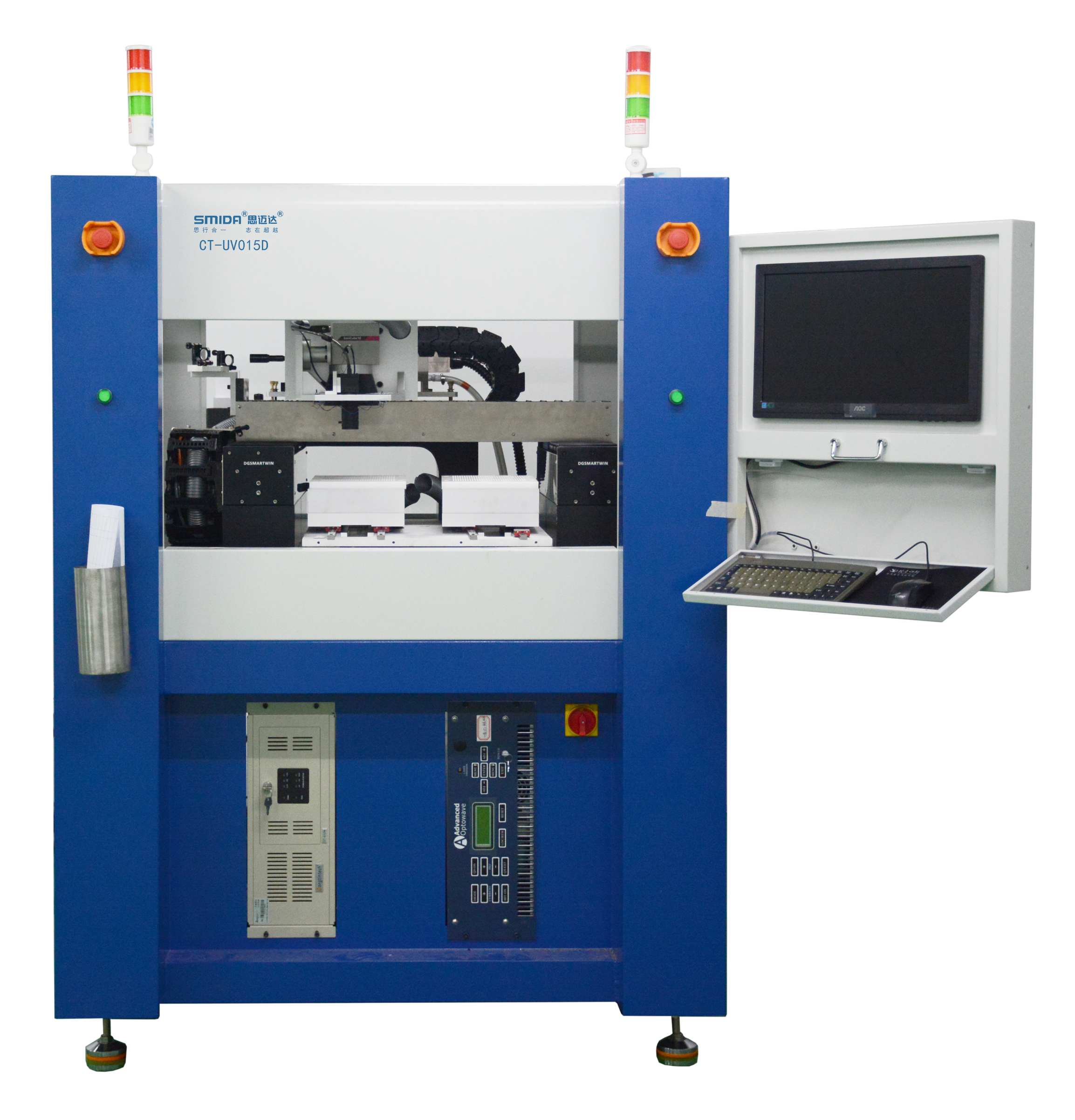 Laser cutting machine for glass cover plate